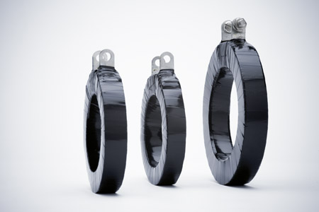 Ring type current transformers
