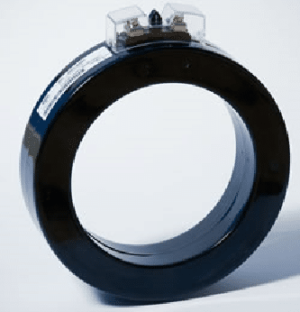 Plastic Case Current Transformer for mounting on cable.